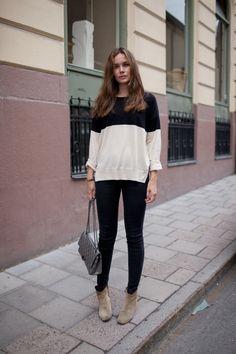 // sweater zara // bag chanel // jeans 7 // boots isabel marant // bracelet sophie by sophie //