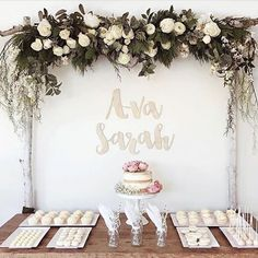This has to be one of my favourite sweets tables. You know before I started Zilvi I planned and styled weddings and events. I do miss setting up tables like this and scoffing treats as I worked. As if my studio doesn't need a lolly buffet. I'm on it folks.  Timber Wall Words by Zilvi available online, link in profile.  Pic: @jamieandniks