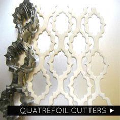 Quatrefoil Cutters  SUGAR ART STUDIO