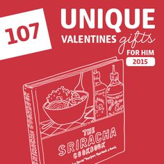 107 Most Unique Valentine's Gifts for Him of 2015- I love these ideas! No. 34 is my favorite.