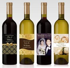 10th 25th 40th 50th GOLDEN SILVER ANNIVERSARY wine by shadow090109, $0.99