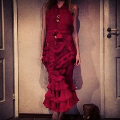 #Fashion#red#dress#luckgorciandesign