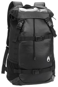 Men's Backpacks | Nixon Landlock Backpack II - Black | Available at www.kjbeckett.com