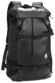 Men's Backpacks | Nixon Landlock Backpack II - Black | Available at www.kjbeckett.com