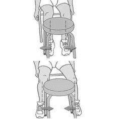 Gonartrosi (artrosi del ginocchio): 8 esercizi per stabilizzare Bart Simpson, The Cure, Character, Sweet, Medicine, Fantasy, Gymnastics, Candy, Lettering
