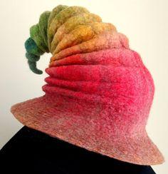 Wizard Hat. Witch Hat. Felt Hat. Ren Faire Hat. by HandiCraftKate, $75.00