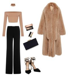 """""""Untitled #28"""" by ainsleeo on Polyvore featuring Diane Von Furstenberg, Jonathan Simkhai, Sergio Rossi, Monsoon and Gucci"""