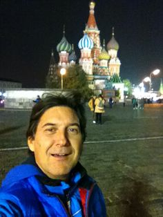 Me and Saint Basil's Cathedral
