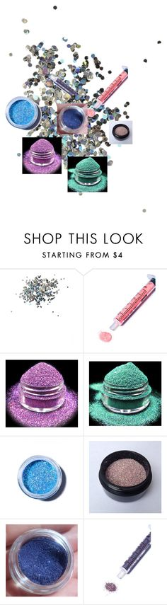 """""""Glitter"""" by sparklescupcakesandpolyvore123 ❤ liked on Polyvore featuring Topshop, Glitter Injections and Lime Crime"""