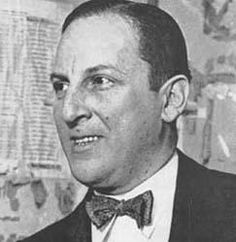 Arnold Rothstein. Noted Gambler. He was the key gambling interest behind the Chicago Black Sox Scandal of 1919.
