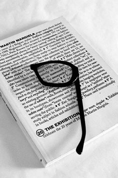 541696518cac4 Line Photography  Julien Oppenheim Both halves of a pair of glasses become magnifying  glasses
