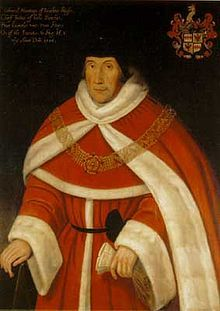 Sir Edward Montagu. He was browbeaten into approving the succession of Lady Jane Grey, along with Thomas Bromley. Edward Foss, the judicial biographer, contrasts their respective treatment by Queen Mary.