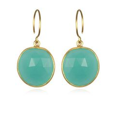 Cabo Gem Earring-Jade Gold – Amelia Rose Design