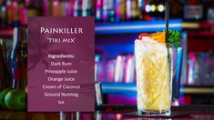 How to make a Painkiller cocktail with Mixologist Neil Donachie. This recipe…