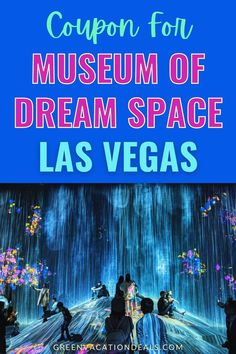 Enter into an immersive world of creativity & culture by visiting the Museum of Dream Space in Las Vegas, Nevada. This is the first museum that primarily exhibits digital art in the United States. They aim to give all guests an immersive and unique experience. See for yourself by visiting when you're in Las Vegas! Find out how you can save money with a coupon. #LasVegas #Vegas #LasVegasStrip #museumofdreamspace #mods #whathappensinvegas #vegasvacation #vegasbaby #vegasweekend #lasvegasnevada Las Vegas Restaurants, Las Vegas Hotels, Las Vegas Nevada, Las Vegas Vacation, Vacation Spots, Las Vegas Coupons, Grand Canal, Museum, Digital Art