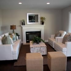 d954d9312 Flip or Flop  Warm and inviting Contemporary Living Room Tarek And  Christina House