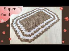 Easy Crochet, Crochet Hats, Crochet Carpet, C2c, Cross Stitch Designs, Crochet Patterns, Blanket, Collection, Youtube