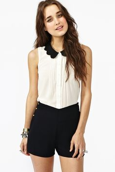 Button Up Shorts (Nasty Gal)