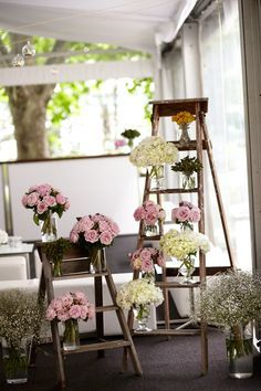 #flowers #ladder