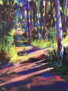 Wayne Plein Air 2017 SOLD Best Picture For my ideas board For Your Taste You are looking for something, and it is going to tell … Soft Pastel Art, Pastel Artwork, Pastel Paintings, Indian Paintings, Abstract Paintings, Oil Paintings, Painting Art, Watercolor Landscape, Landscape Art