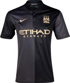 Black Manchester City Jersey 2014