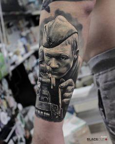 Timur Rumit @rumittattoo  BLACKOUT tattoo collective  @blackouttattoocollective…