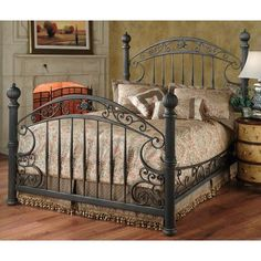 Chesapeake Grills Rustic Brown Finish Bed