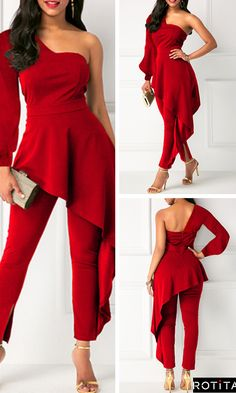 It is hard to believe that we are already cruising through February, but to be honest I am more than excited for the warmer weather ahead! Classy Dress, Classy Outfits, Stylish Outfits, Beautiful Outfits, Dress Indian Style, Red Jumpsuit, Trendy Clothes For Women, African Dress, Modest Dresses