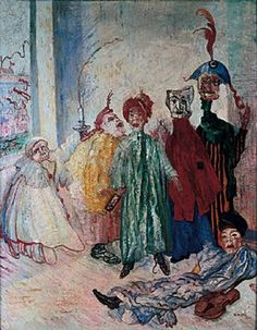 James Ensor, the painter of deliquescence  Discover the coolest shows in New York at www.artexperience..
