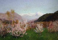 Isaac Levitan. Spring in Italy, 1890