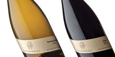 Two latest wine label designs for Wedderwill in South Africa.  Designed by Jack Russell Design