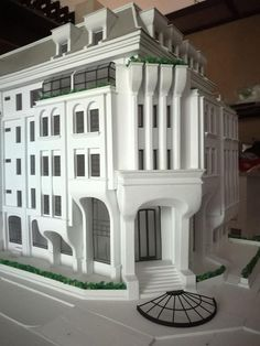 Arch Model, Architectural Models, Ea, Exterior, Mansions, Architecture, House Styles, Home Decor, Cubism