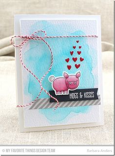 Hogs & Kisses–MFT Color Challenge #39