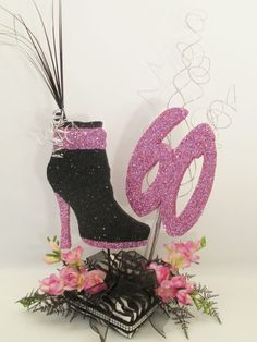 shoe-boot-60-zebra-centerpiece