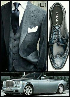 Must have accessories. Sharp Dressed Man, Well Dressed Men, Men Dress, Dress Shoes, Dapper Gentleman, Mens Gear, Mens Fashion, Fashion Outfits, Fashion Styles