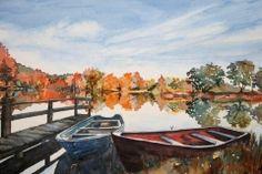 "Lynn Rank Henry - ""Autumn Radiance"" -- Renoartio Open Art Contest -- 1st Place Winner -- July 2016"