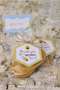 Mommy to Bee Favor Tags
