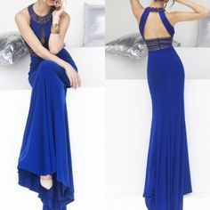 Halter Party Evening Dress,Sexy Straight Satin Women Dresses Prom Gowns,Royal Blue Long Prom Dress,Backless Evening Gown