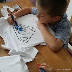 DIY le tee shirt super héros !