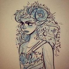 Inktober doodle by Snarkies