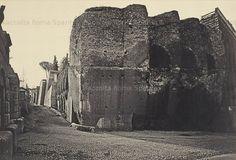 Foto storiche di Roma - Viale del Muro Torto Anno: 1870 ca.