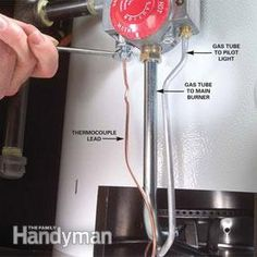 How to Replace a Water Heater Thermocouple | The Family Handyman