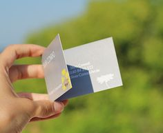 Faltbare Visitenkarten - Klappkarten - Premium - Papier - Siebdruck - Spotlackierung - Ideen - www.bce-online.com/de