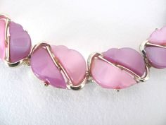 Vintage Purple Lucite Bracelet 1960's by ThirstyOwlVintage on Etsy, $24.50