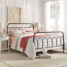 Mercer Casted Knot Metal Bed by iNSPIRE Q Classic | Overstock.com Shopping - The Best Deals on Beds