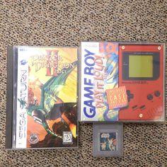 Few things from @gameswappers #gameboy #sega #nintendo #segasarurn #starwars by nostalgic_nic