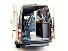Van for a bike shop.