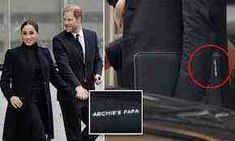 The proud dad spent Wednesday night and Thursday with his wife Meghan in New York City while the kids – Archie and Lilibet – stayed back in Los Angeles. Prince Harry has carried around a laptop bag with 'Archie's papa' written on it He's been touting the bag around during his New York City trip […] The post Dad, you should be proud of yourself! During his NYC trip, Harry carried a laptop bag with the words 'Archie's papa' engraved on the side appeared first on Compsmag - Latest News from t