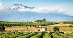 Mini Sicily Italy itinerary  Mount Etna, Sicily