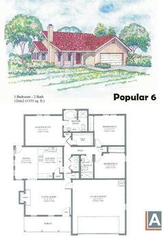 Casa com 3 quartos